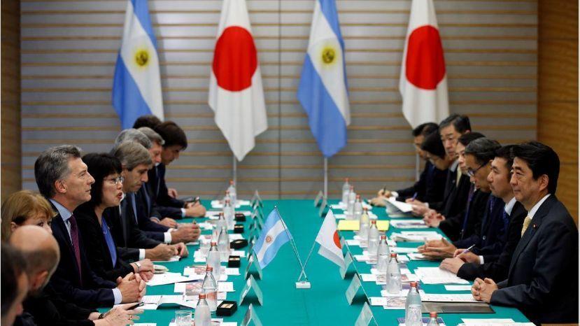 """Macri, en Japón: """"Argentina va a tener éxito porque respeta la palabra y los acuerdos"""""""