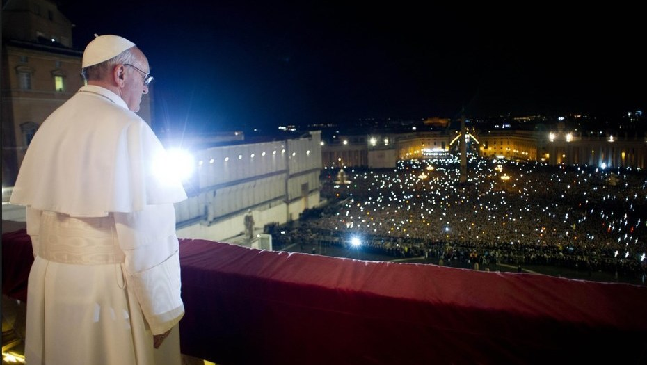 Hace cinco años Jorge Bergoglio se convertía en Papa de la Iglesia católica