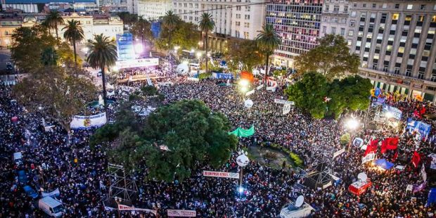"""Una multitud gritó """"Nunca más"""" y le mandó un mensaje a la Justicia"""