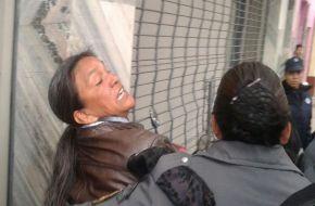 Milagro Sala se autolesionó y culpó a Gerardo Morales