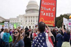Marchas en EEUU para exigir que Trump publique su declaración de impuestos