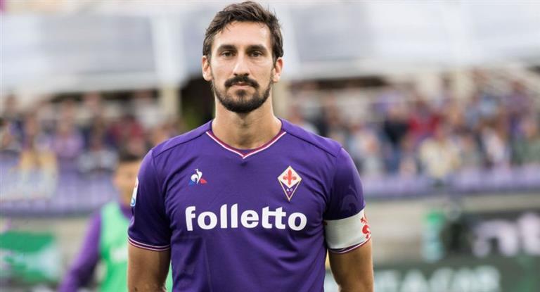 Luto en el fútbol: murió Davide Astori, capitán de la Fiorentina