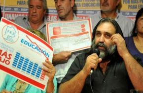 Los docentes levantan los paros pero le piden a Vidal que devuelva los descuentos