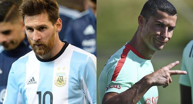 A un año del Mundial de Rusia, Messi y Cristiano Ronaldo tienen complicada su participación