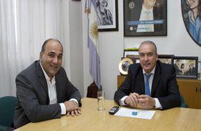 Inundaciones: así anunciaban inversiones millonarias para obras Juan Manzur y José López