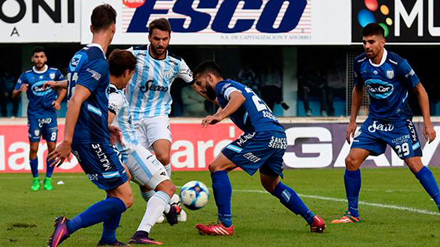 Rafaela le ganó a Atlético en la última jugada (VIDEO).