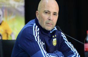 """Sampaoli: """"El único titular en la selección es Messi; el resto será evaluado"""""""