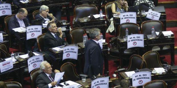 Diputados aprobó el proyecto para frenar el 2x1 a genocidas