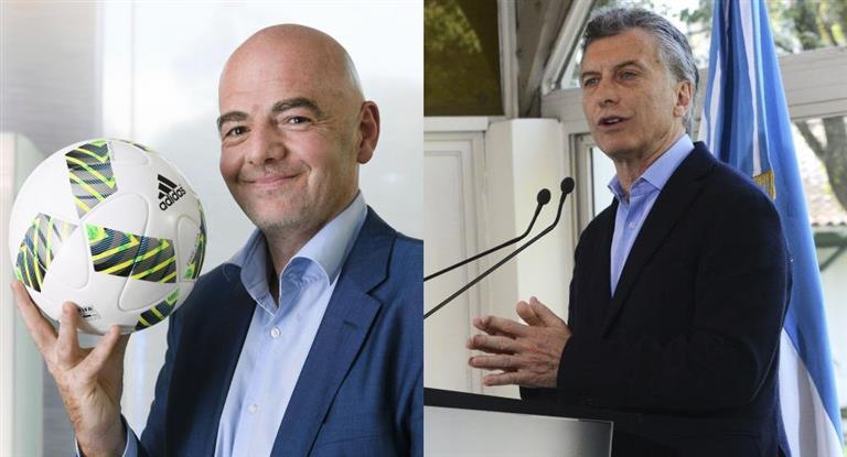 Macri encabeza cumbre de presidentes para avanzar en la postulación del Mundial 2030