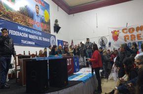 En Tucumán la CGT también marchará contra el macrismo