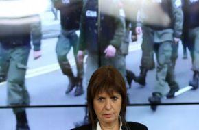 """Patricia Bullrich atacó a los dirigentes de la CGT, enojada por el paro nacional del jueves. """"Es totalmente inexplicable. Los sindicalistas que hace años que no laburan, que vayan a trabajar"""", dijo la ministra."""