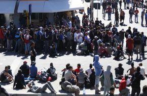 Los peregrinos ricoteros abandonan Olavarría, aunque todavía quedan decenas de personas perdidas