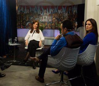 """Cristina Kirchner: """"Si para ganar es necesario que sea candidata, lo soy"""""""