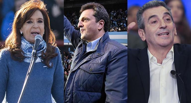 Cristina, Massa y Randazzo ponen en marcha sus campañas de cara a las PASO