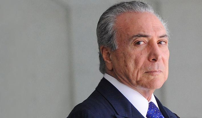 """Temer: """"Mi compromiso es con Brasil, no renunciaré"""""""