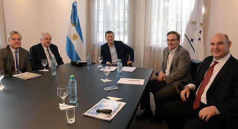 Macri recibió a Pagani, quien le detalló los planes de Arcor