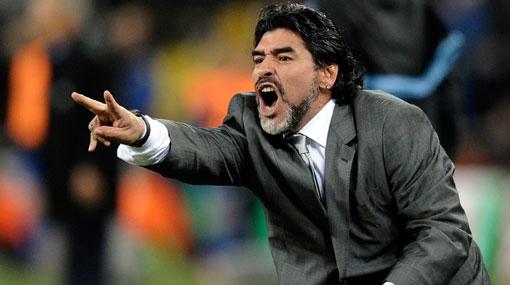 Maradona volverá a trabajar como director técnico