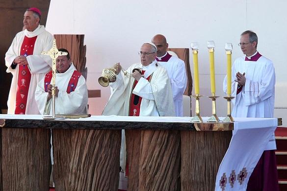 El Papa Francisco dedicó una misa a víctimas de la dictadura de Pinochet en Chile