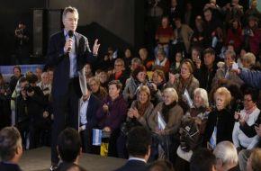 """Según Macri la reforma jubilatoria es parte de """"la campaña del miedo"""""""