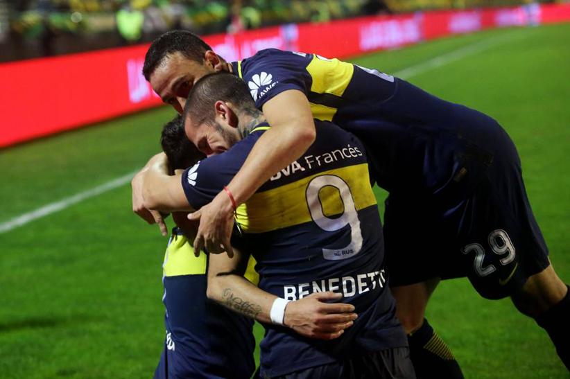Boca aplastó a Aldosivi y dio un gran paso hacia el título (VIDEO).