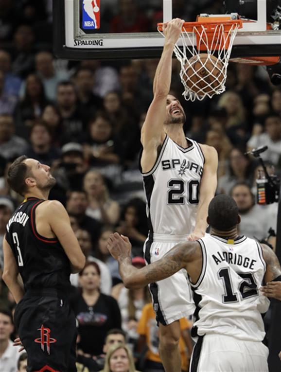Épico triunfo de los Spurs de Ginóbili ante los Rockets