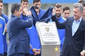 Por qué Macri pidió que el nuevo predio de Boca no lleve su nombre
