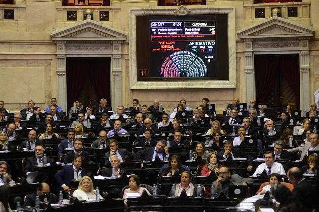 Diputados le dio media sanción a la reforma tributaria