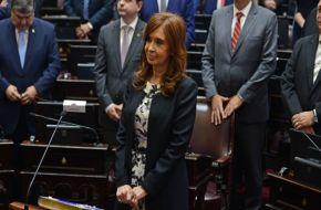 Cristina oficializó su bloque en el Senado, que contará con ocho miembros