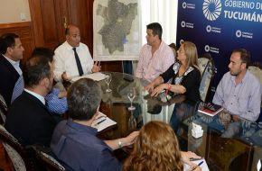 Reunión del Comite de Emergencia por las inundaciones