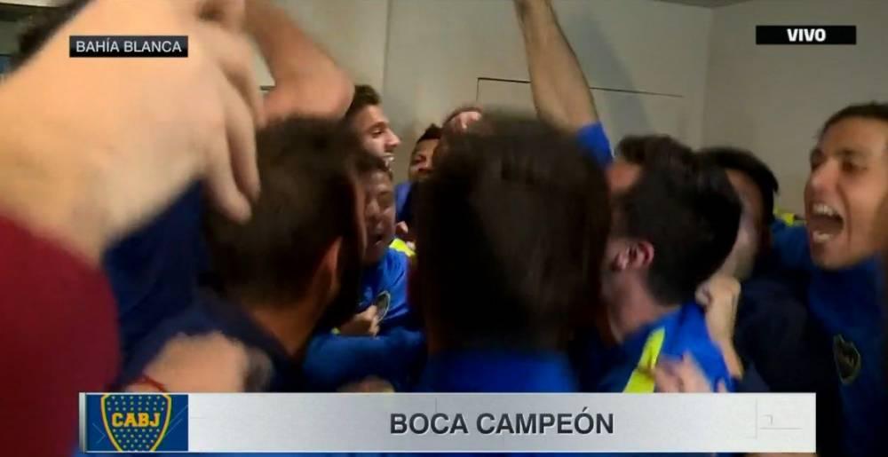 Boca Campeón. San Lorenzo le ganó a Banfield y consagró al equipo de La Ribera.