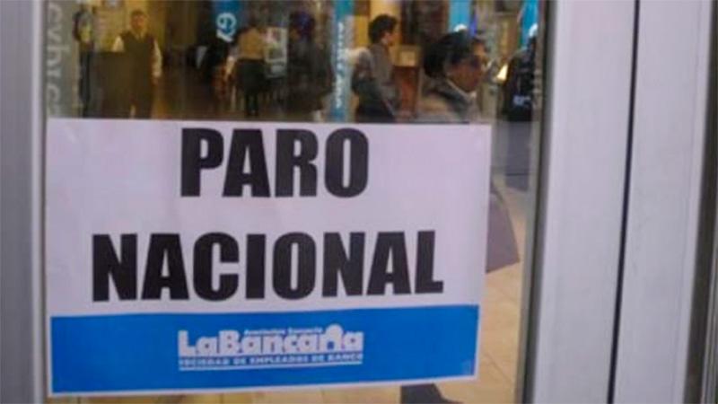 """La Bancaria dice que """"no hay vocación de negociación"""" y prepara el paro de 48 horas"""