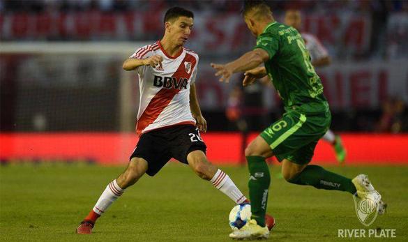 River se quedó, Sarmiento se lo empató y no pudo acercarse al líder Boca