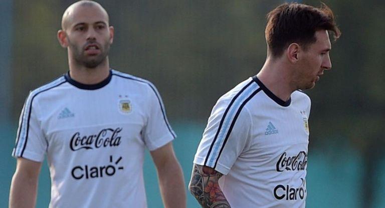Mientras Perú hace 10 días que entrena, la Selección completó hoy el plantel con Messi