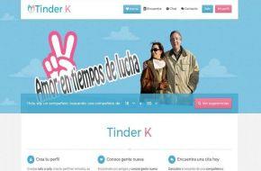 "Facebook: crearon el ""Tinder K"" para buscar pareja kirchnerista"