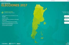 Todos los candidatos, distrito por distrito, en un portal interactivo para las PASO