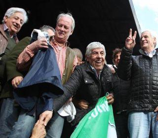 Diferencias sindicales: habrá cinco actos nacionales para celebrar el Día de los Trabajadores