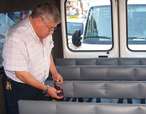 Se está realizando la primera Inspección Técnica Anual Obligatoria de transportes escolares