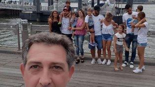 Lionel Messi y Antonela Roccuzzo, protagonistas de la selfie que recorre el mundo
