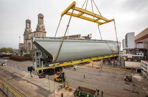 Llegaron 146 nuevos vagones para los trenes de carga