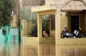 Lluvias causaron inundaciones y destrozos en al menos 10 localidades de la Provincia de Bs. As.