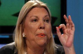 Carrió denunció a Bossio y Kicillof por presunto manejo fraudulento de fondos de Anses