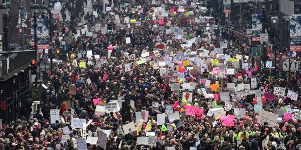 8M: esperan una 'marea' de mujeres en la marcha y paro del próximo jueves