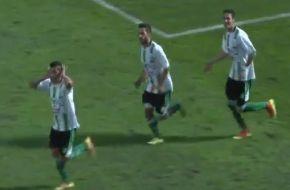 San Martín se durmió en San Luis y le empató Estudiantes un partido que lo tenía ganado (Video).