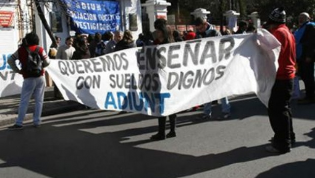 Paro este Miércoles y Jueves en la Universidad Nacional de Tucumán
