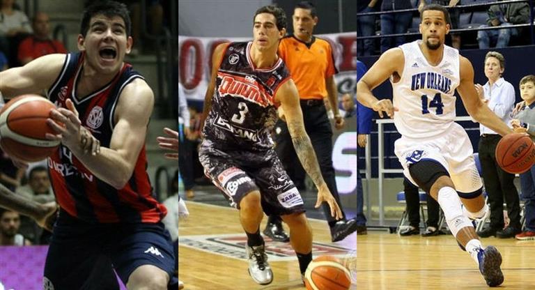 Conocé a los tres argentinos que pueden llegar esta noche a la NBA