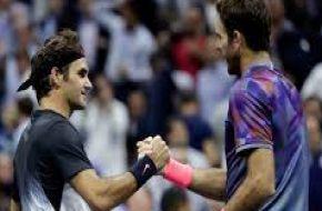 Lo hizo de nuevo: Del Potro eliminó a Federer y se cruzará con Nadal en la semifinal