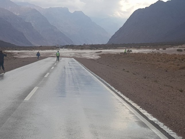 Fuerte alud en Mendoza obliga a cortar el corredor internacional Cristo Redentor