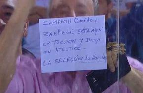 Los hinchas de Atlético Tucumán piden por Zampedri para la Selección