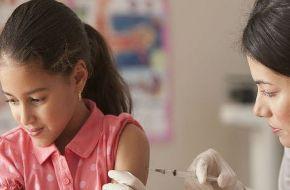 Más de medio millón de niñas no están protegidas contra el VPH