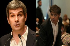 Congreso: duro cruce entre Kicillof y Peña